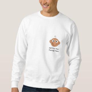 Cute Baby. Custom Text. Sweatshirt