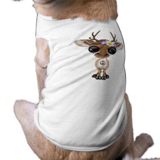 Cute Baby Deer Hippie T-Shirt