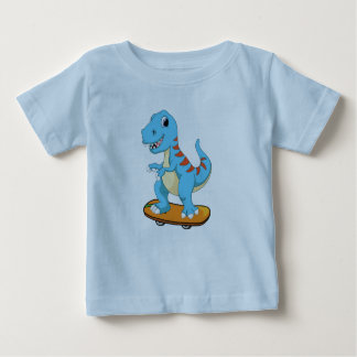 Cute Baby Dinosaur Jersey for Baby Kids T-Shirt
