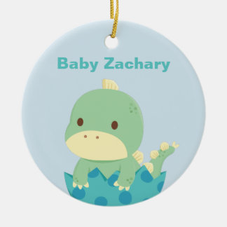 Cute Baby Dinosaur Newly Hatched Newborn Ornament