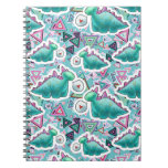 Cute Baby Dinosaurs Pattern Note Book