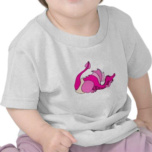 Cute Baby Dragon in Diaper Tee Shirts