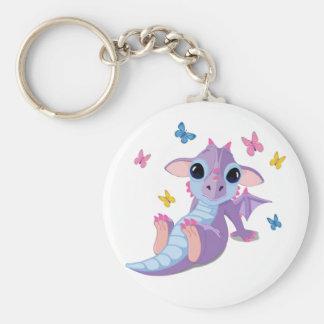 Cute Baby Dragon Keychain