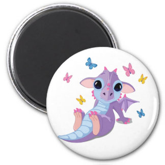 Cute Baby Dragon Magnet