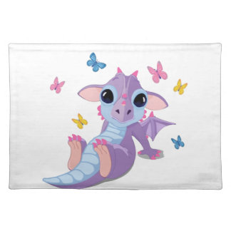 Cute Baby Dragon Placemat