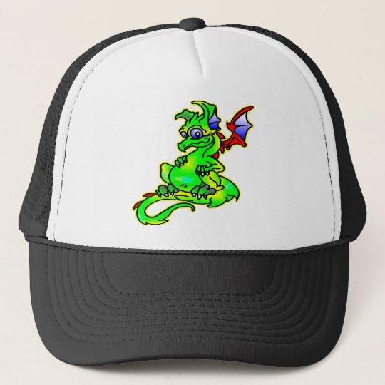 Cute Baby Dragon Trucker Hat