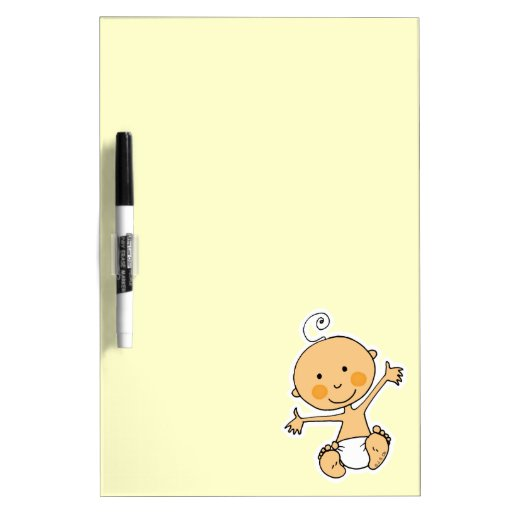 cute baby Dry-Erase whiteboards