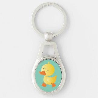 Cute Baby Duck Keychain