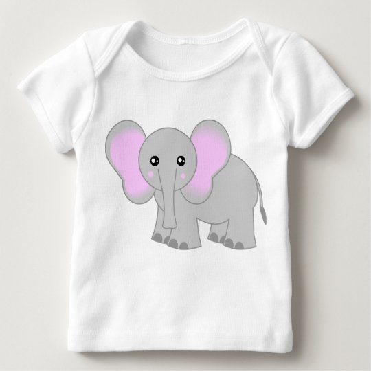 Cute Baby Elephant Baby T-Shirt