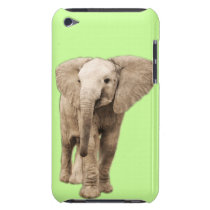 Cute Baby Elephant Barely There iPod Cover
