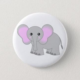 Cute Baby Elephant Button