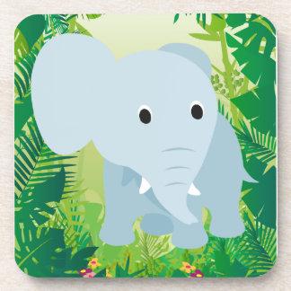 Cute Baby Elephant Coasters