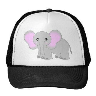 Cute Baby Elephant Trucker Hat
