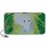 Cute Baby Elephant iPhone Speaker