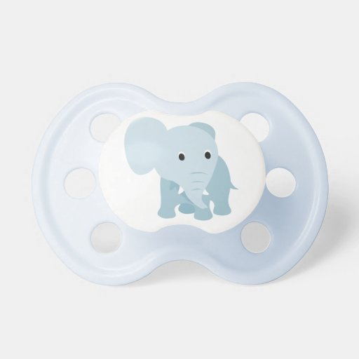 Cute Baby Elephant Baby Pacifier
