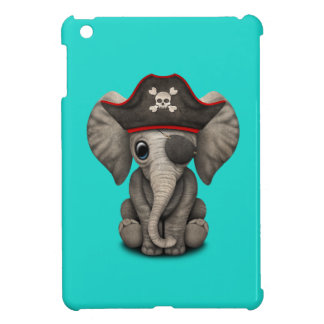 Cute Baby Elephant Pirate Case For The iPad Mini