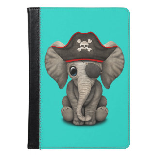 Cute Baby Elephant Pirate iPad Air Case
