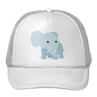 Cute Baby Elephant Trucker Hat