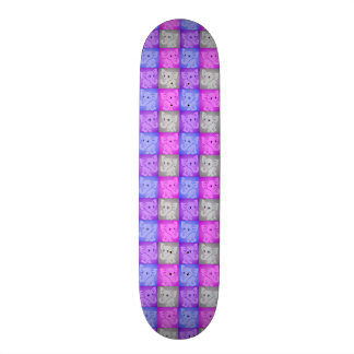 Cute Baby Elephants Soft Colors Pattern Skate Board Decks