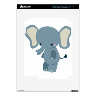 Cute baby eleplant decal for iPad 3