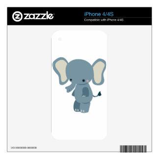 Cute baby eleplant iPhone 4 skin