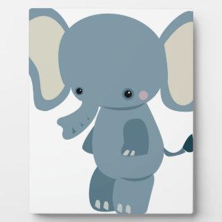 Cute baby eleplant plaque