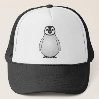 Cute Baby Emperor Penguin Cartoon Trucker Hat