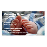 Cute Baby Feet Business Cards