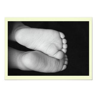Cute Baby Feet Card