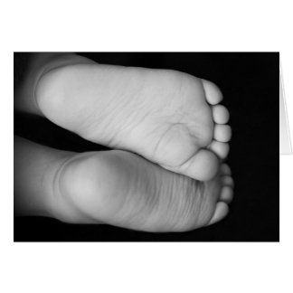 Cute Baby Feet Cards