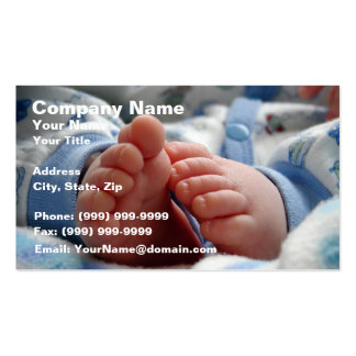 Cute Baby Feet Double-Sided Standard Business Cards (Pack Of 100)