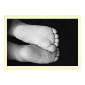 Cute Baby Feet Invite