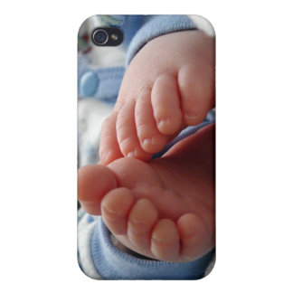 Cute Baby Feet iPhone 4 Cases