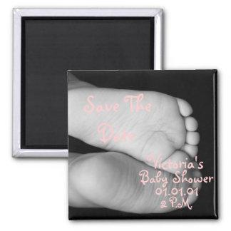 Cute Baby Feet Magnet
