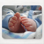 Cute Baby Feet Mouse Pad