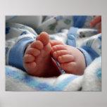 Cute Baby Feet Print