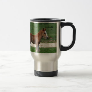 Cute Baby Foal Destiny Gifts Springtime Adorable 15 Oz Stainless Steel Travel Mug