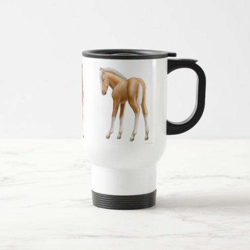 Cute Baby Foals Travel Mug