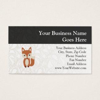 Cute Baby Fox Business Card