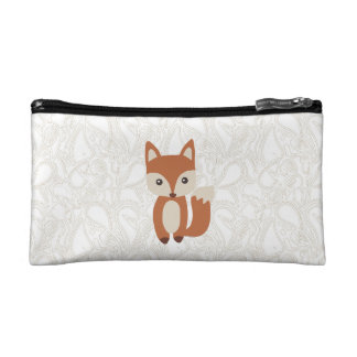 Cute Baby Fox Cosmetic Bag
