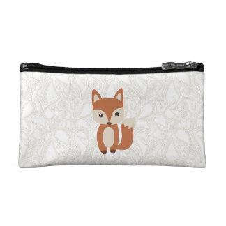 Cute Baby Fox Cosmetic Bag