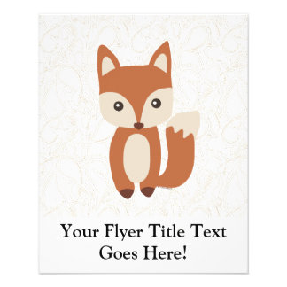 Cute Baby Fox Flyer