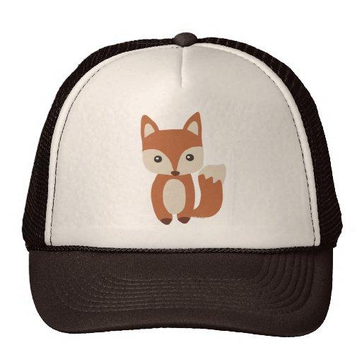 Cute Baby Fox Mesh Hats
