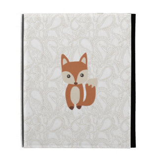Cute Baby Fox iPad Folio Covers