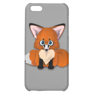 Cute Baby Fox Cover For iPhone 5C