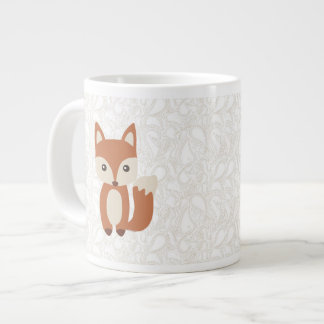 Cute Baby Fox Large Coffee Mug