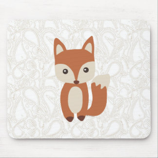 Cute Baby Fox Mouse Pad