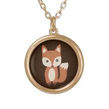 f61441531ddc6 Fox Necklaces & Lockets | Zazzle