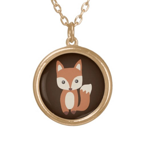 Cute Baby Fox Necklace