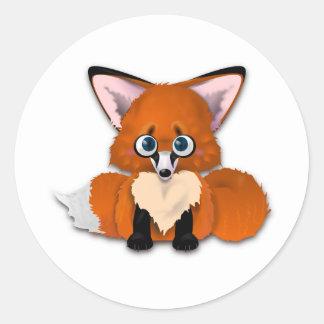 Cute Baby Fox sticker